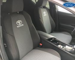Чехлы автомобильные для  Toyota (Тойота)  на заказ в Екатеринбурге