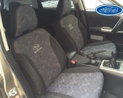 Forester Subaru Outback экокожа и ткань2009