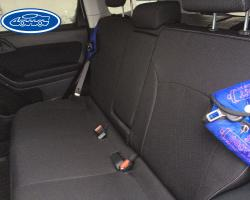 Subaru Outback экокожа и ткань