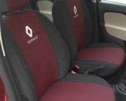 чехлы автомобильные экокожа Renault (Рено)