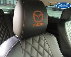 пошив чехлов из экокожи Mazda (Мазда)
