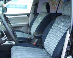 чехлы экокожа Mitsubishi (Мицубиси)