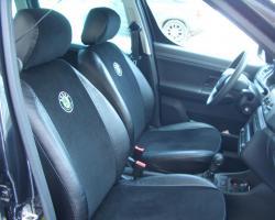 авточехлы из экокожи Skoda (Шкода) фото