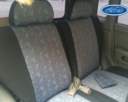Чехлы автомобильные из экокожи на Nissan (Ниссан)